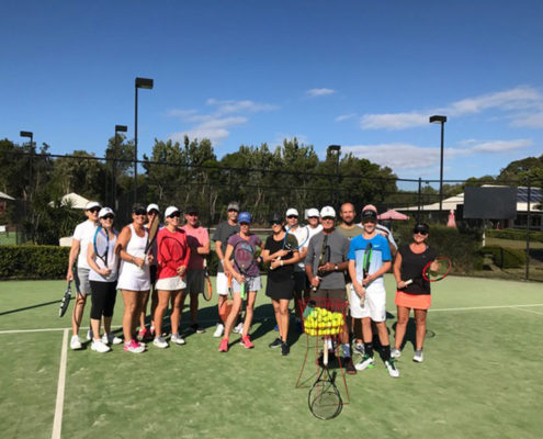 adults tennis lessons