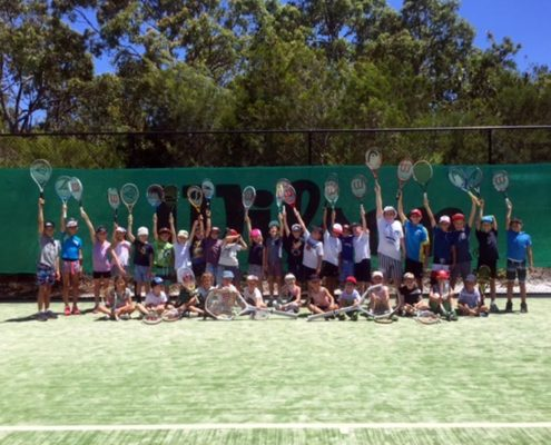 tennis holiday programs noosa
